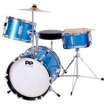 PP Junior 3-Piece Drum Kit - Blue