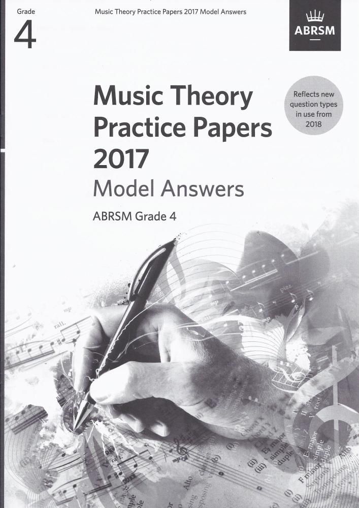 ABRSM Music Theory Practice Papers Model Answers 2017 - Grade 4