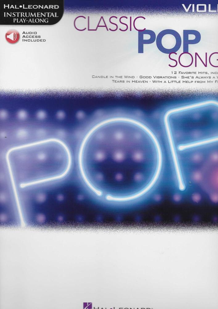 Classic Pop Songs (Violin)