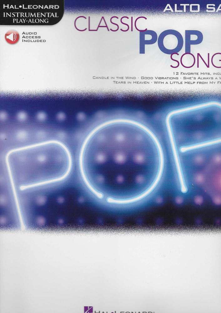Classic Pop Songs (Alto Saxophone)