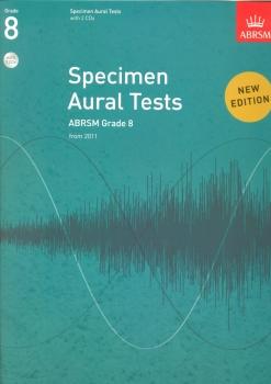 ABRSM Specimen Aural Tests - Grade 8 (2011+) Book/2 CDs
