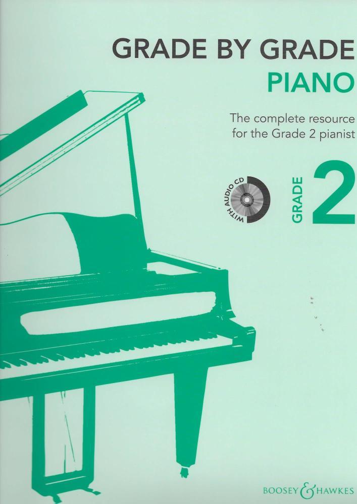 Grade By Grade: Piano - Grade 2 (Book/CD)
