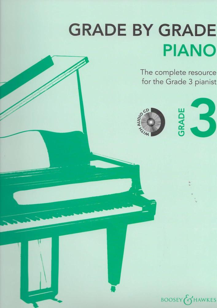 Grade By Grade: Piano - Grade 3 (Book/CD)