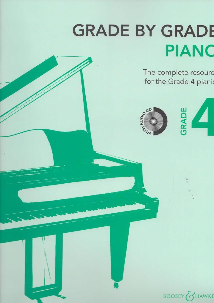 Grade By Grade: Piano - Grade 4 (Book/CD)