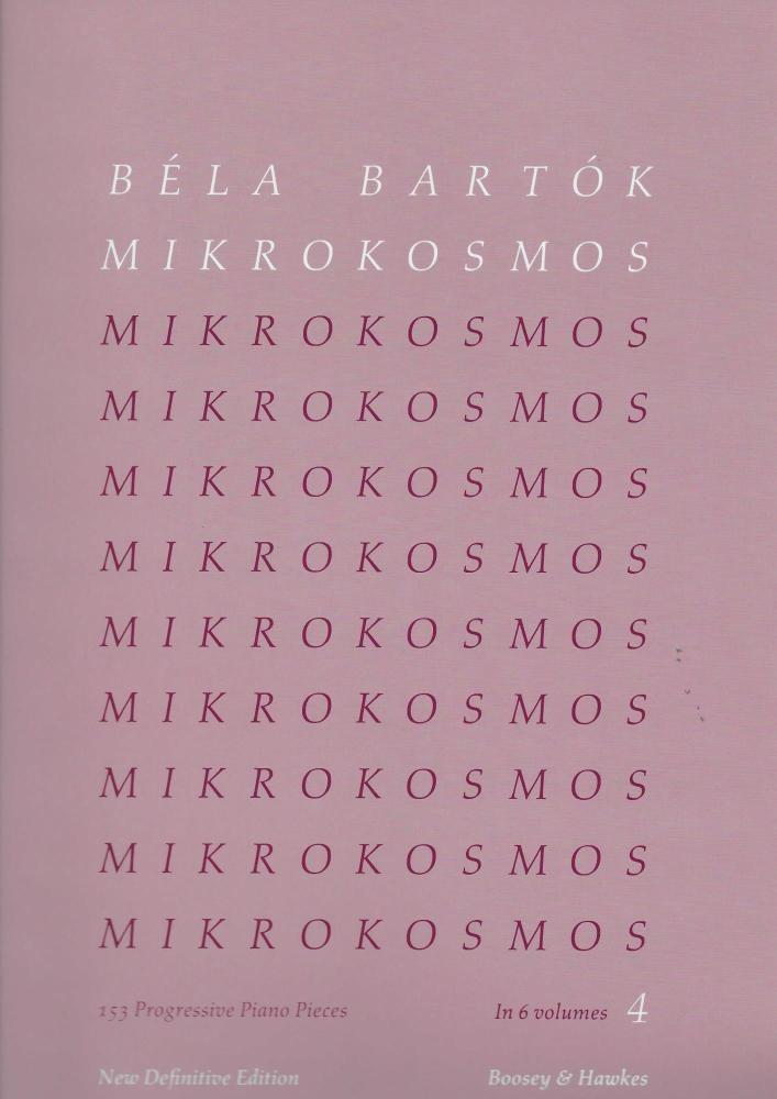 Bela Bartok: Mikrokosmos 4