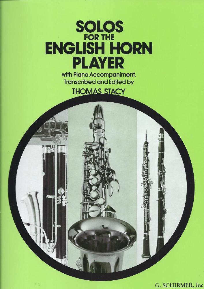 SOLOS FOR THE ENGLISH HORN PLAYER (COR ANGLAIS) CORA