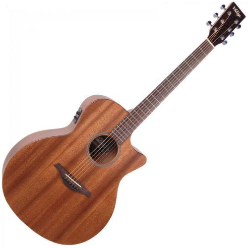 Electro Acoustic with Cutaway - Mahogany