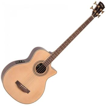 Electro Acoustic Bass Guitar - Natural