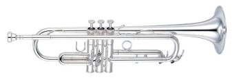 Yamaha YTR8310ZS Bb Custom Trumpet in Silver Plate