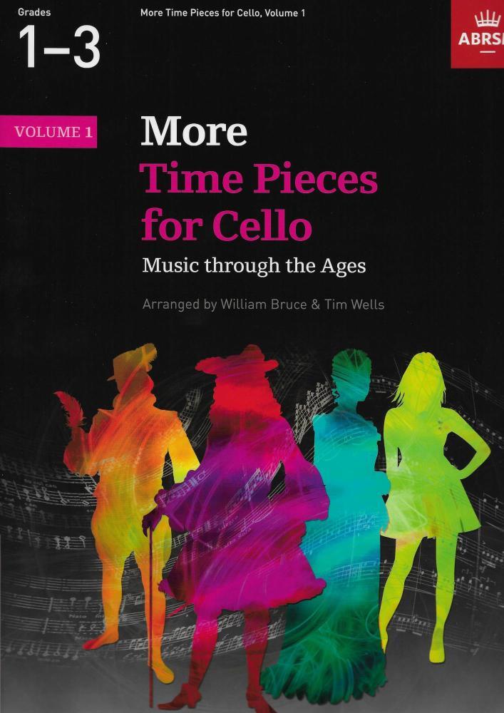 More Time Pieces For Cello - Volume 1