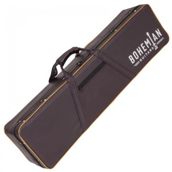 Bohemian Guitar Hardcase - Black/Brown