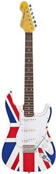 Vintage Electric Guitar - Fillmore- Union Jack Special Edition