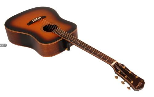 Songwriter Acoustic Guitar - Tobacco Sunburst Finish
