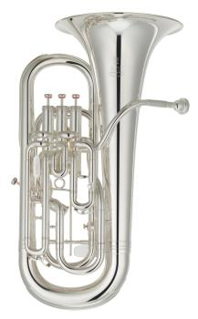 Yamaha YEP642TS02 Neo Euphonium with Tuning Slide Trigger in Silver Plate