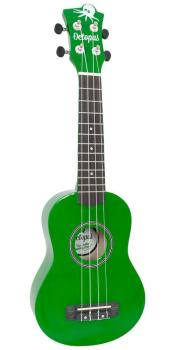 Soprano Ukulele Outfit in Green Finish with Black Bag
