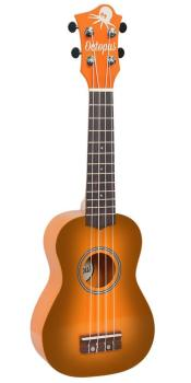 Soprano Ukulele Outfit in Orange Burst with Black Bag