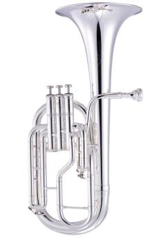 John Packer JP072 Eb Tenor Horn in Silver Plate