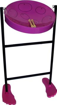 Jumbie Jam JJ1058-PU Steel Pan Kit in Purple