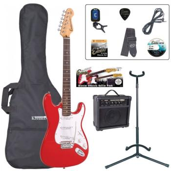E6 Blaster Series Electric Guitar Outfit - Red