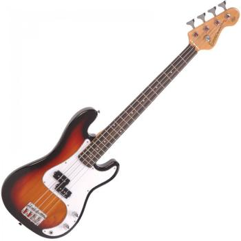 Encore 7/8 Bass Guitar - 3 Tone Sunburst