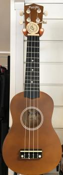 Pacific Soprano Ukulele - Natural Finish with Bag