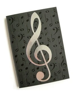A5 Journals Black/Silver