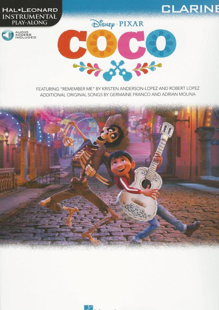 Disney Pixar's Coco: Instrumental Play-Along For Clarinet (Book/Audio)