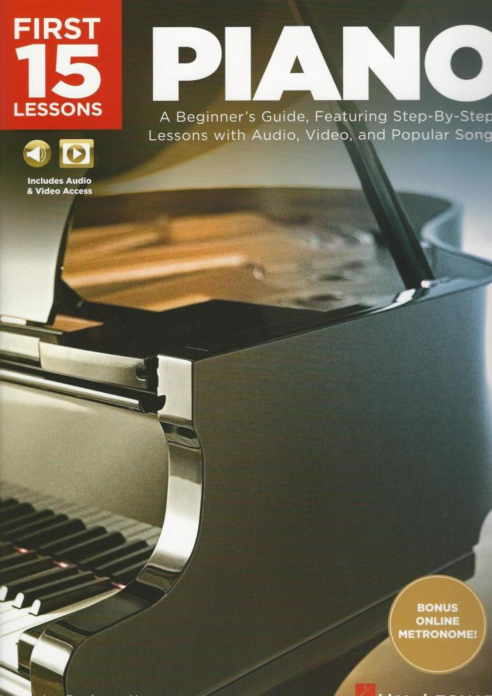 First 15 Lessons - Piano