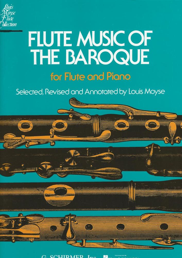 FLUTE MUSIC OF THE BAROQUE FLT