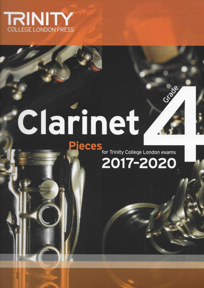 Trinity College London: Clarinet Exam Pieces Grade 4, 2017–2020 (Score And