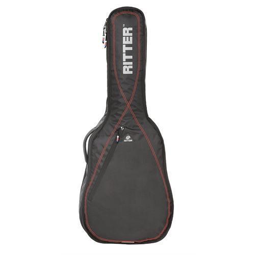 Classical 1/2 Guitar Bag Black/Red