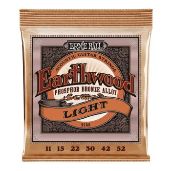 Ernie Ball Guitar Strings EW Phosphor Bronze Light Set