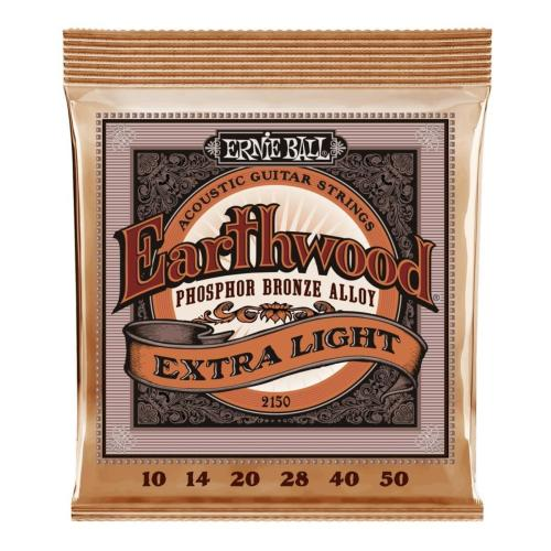 Ernie Ball Guitar Strings EW Phosphor Bronze Extra Light Set