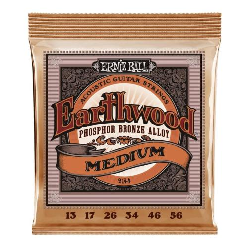 Ernie Ball Guitar Strings EW Phosphor Bronze Medium Set