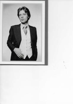 My World: Terry O'Neill Greetings Card - Mick Jagger