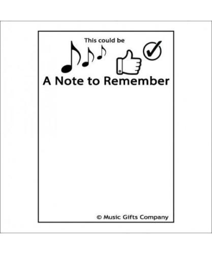 Notepad - A note to remember