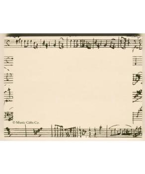 Mozart Sticky Notes