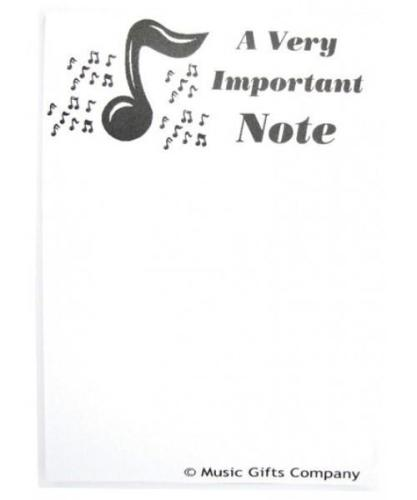 Notepad - A very important note