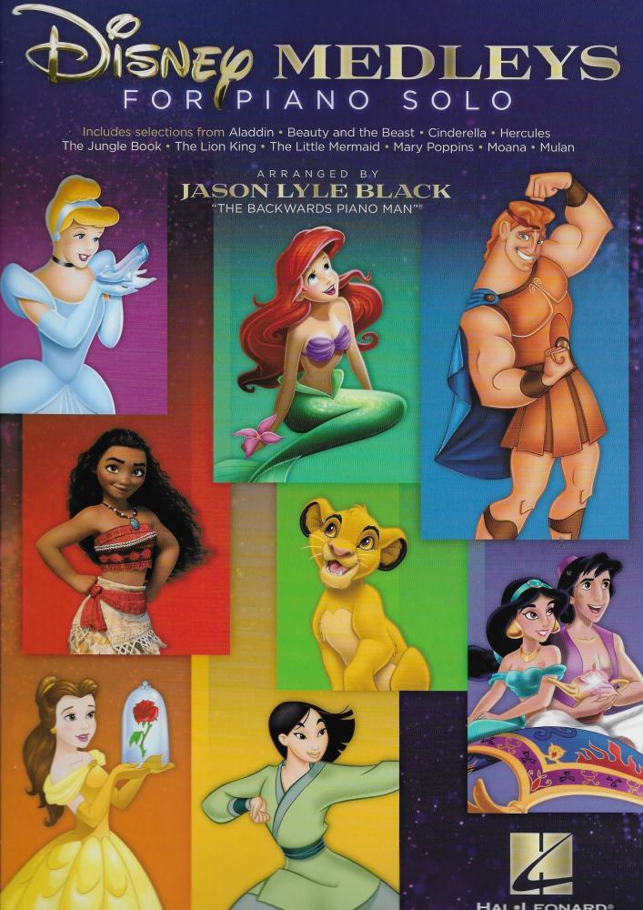 Disney Medleys For Piano Solo