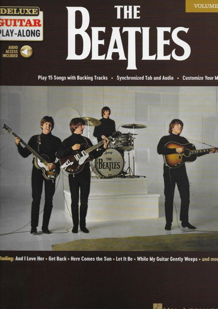 The Beatles: Deluxe Guitar Play-Along Volume 4