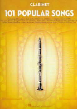 101 Popular Songs - Clarinet