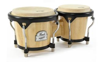 "Pearl Wood Bongo, 6"" & 7"" Natural"