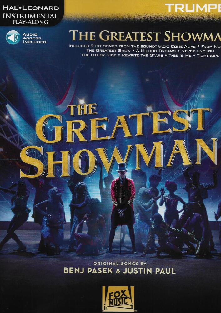 Instrumental Play-Along: The Greatest Showman - Trumpet (Book/Online Audio)
