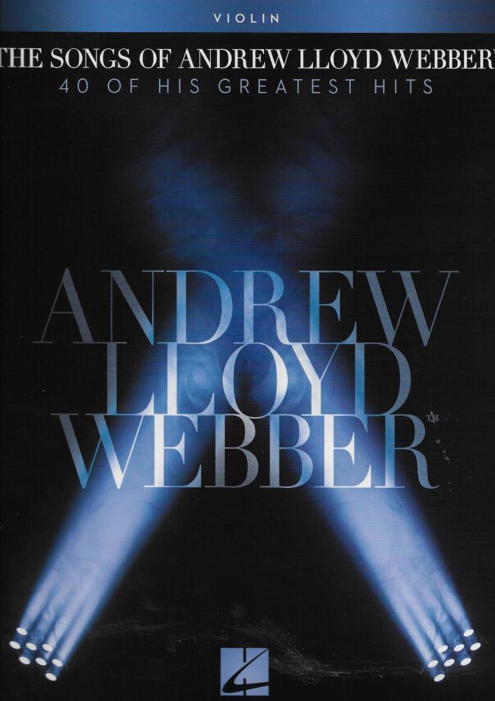 The Songs Of Andrew Lloyd Webber: Violin