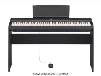 Yamaha Digital Piano P-125B Black