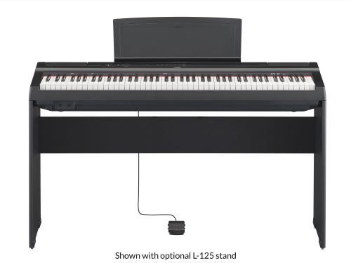 Digital Piano P-125B Black