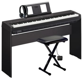 Yamaha P45 Weighted Digital Piano Deluxe Pack