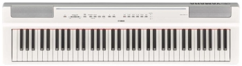 Yamaha P121 Portable Digital Piano White