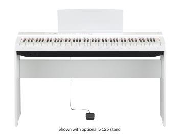 Yamaha Digital Piano P-125Wh White