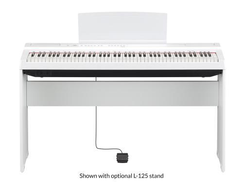 Yamaha Digital Piano P-125Wh White
